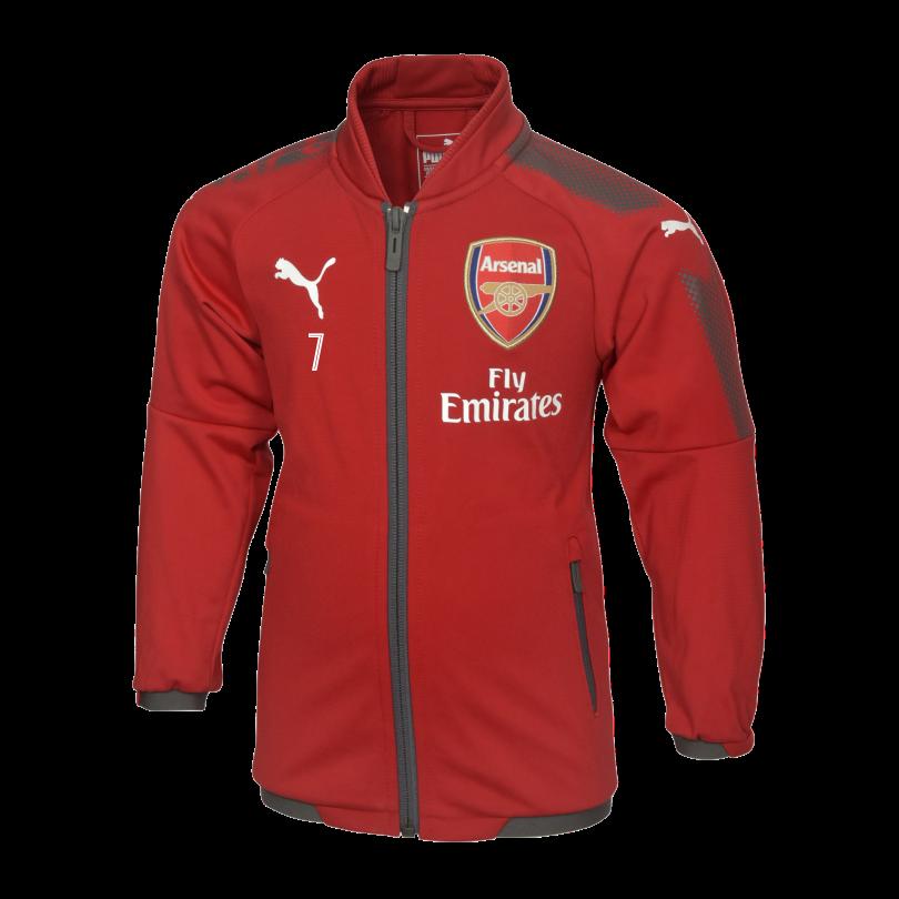 Arsenal Mini 17/18 Home Stadium Jacket
