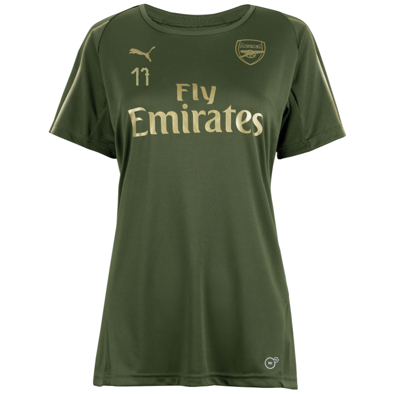 Arsenal Womens 18/19 Green Training Shirt