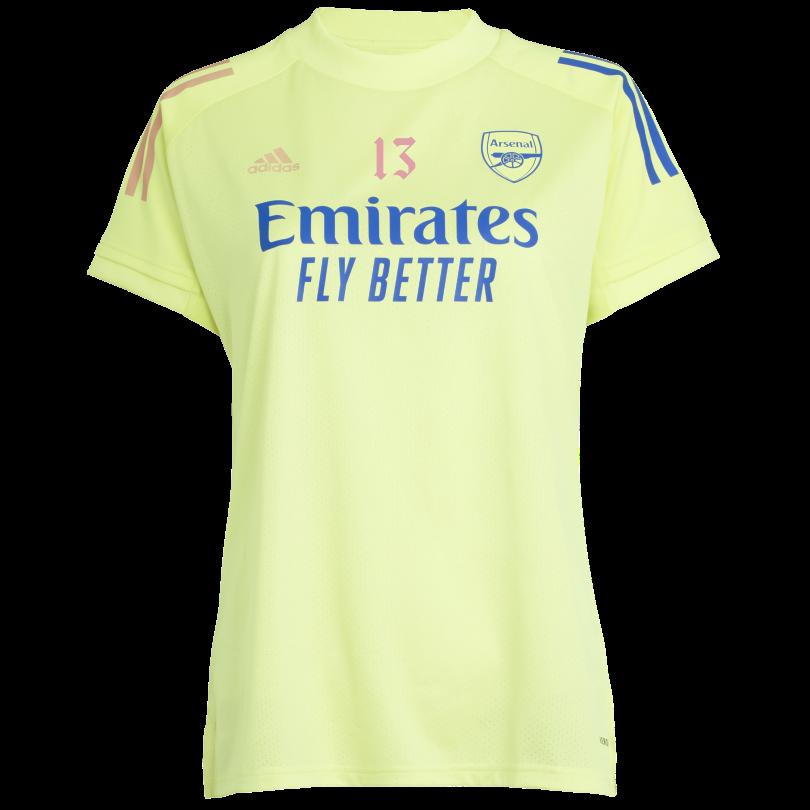 Arsenal Womens 20/21 Training Shirt