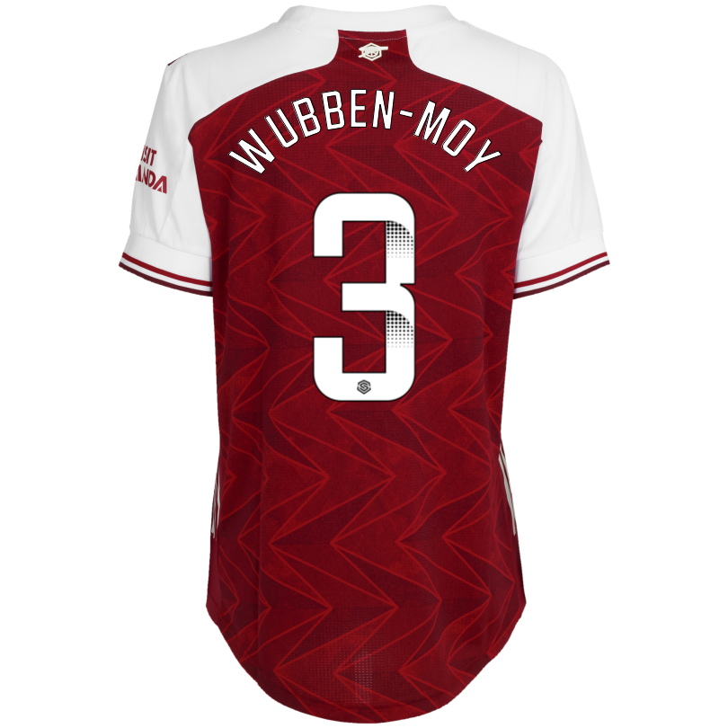 Arsenal Womens 20/21 Authentic Home Shirt