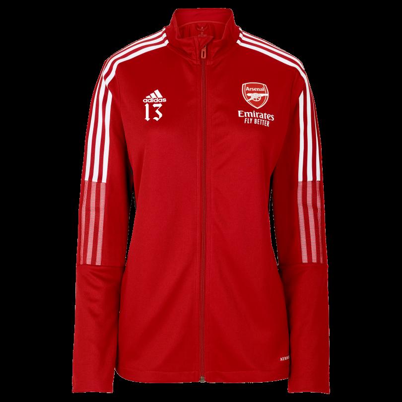 Arsenal Womens 21/22 Track Jacket