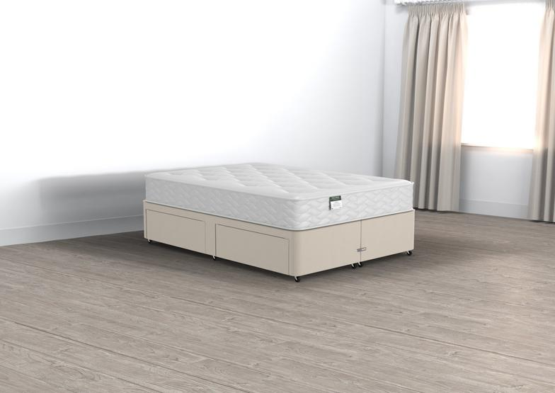 Classic Halliday Double 2 Drawer Divan Set