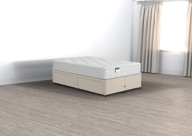 Classic Halliday Small Double 2 Drawer Divan Set