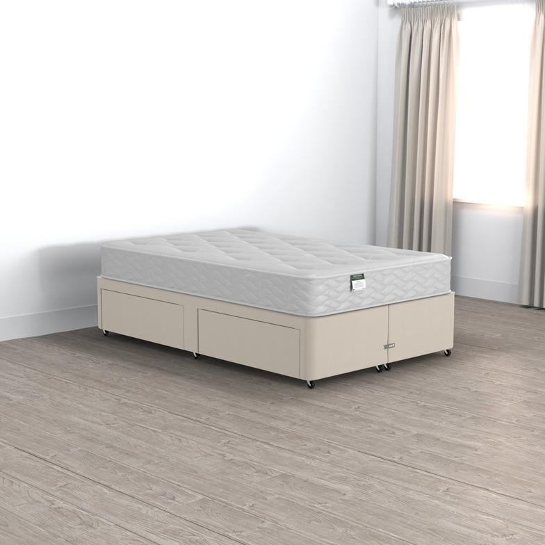 Classic Beaumont Small Double 2 Drawer Divan Set