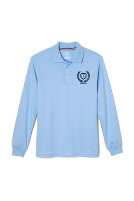 Amplience Product Image with Product code 1007,name  Long Sleeve Interlock Polo