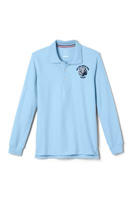 Amplience Product Image with Product code 1009,name  Long Sleeve Pique Polo