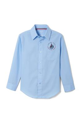 Amplience Product Image with Product code 1014,name  Long Sleeve Dress Shirt with Expandable Collar