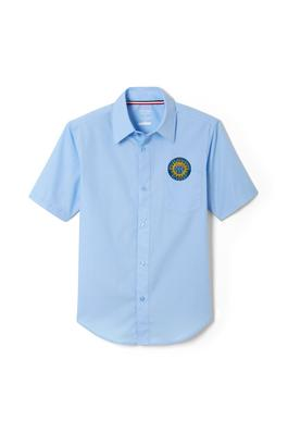 Amplience Product Image with Product code 1021,name  Short Sleeve Dress Shirt with Expandable Collar
