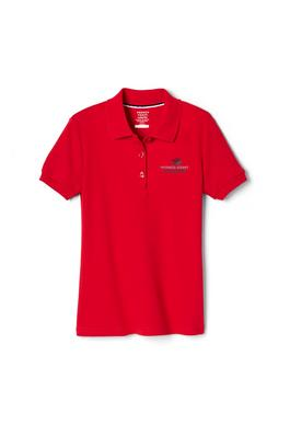 Amplience Product Image with Product code 1467,name  Short Sleeve Interlock Polo with Picot Collar (Feminine Fit)