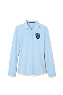 Amplience Product Image with Product code 1518,name  Long Sleeve Stretch Pique Polo (Feminine Fit)
