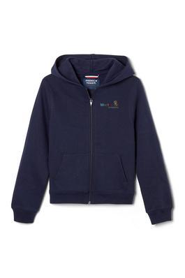 Amplience Product Image with Product code 1604,name  Fleece Hooded Sweatshirt