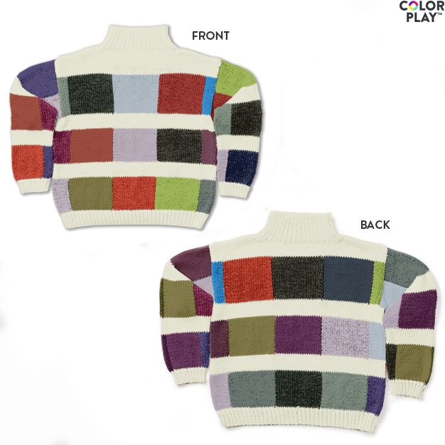c3155174e Caron x Pantone Color Swatch Knit Sweater